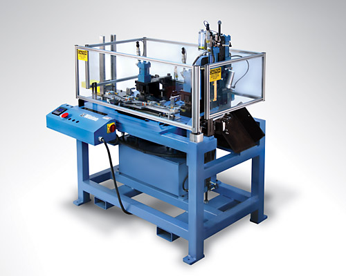 Programmable Transfer Machine For High Speed Tube Fabrication