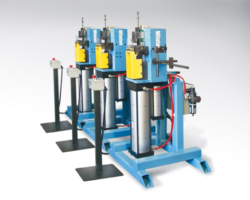 Pneumatic Powered Vertical Compression Tube Bender