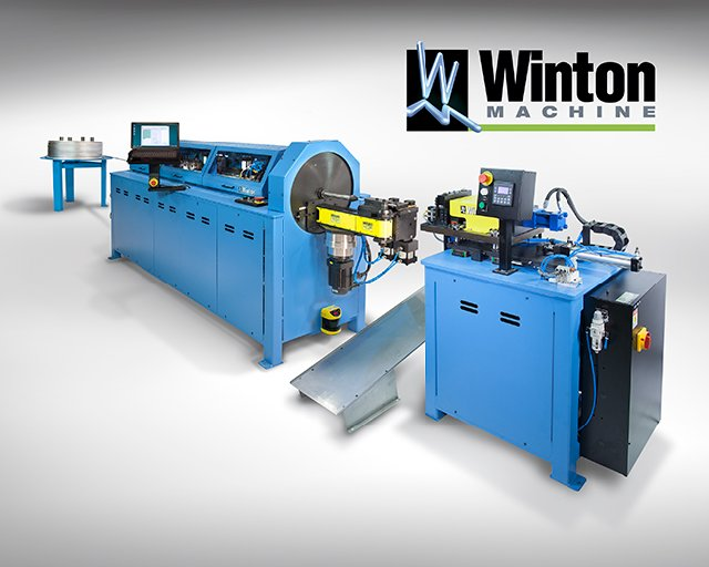 Winton Machine Model OB23 CNC Orbital Tube Bending System with Integrated Tube End Former
