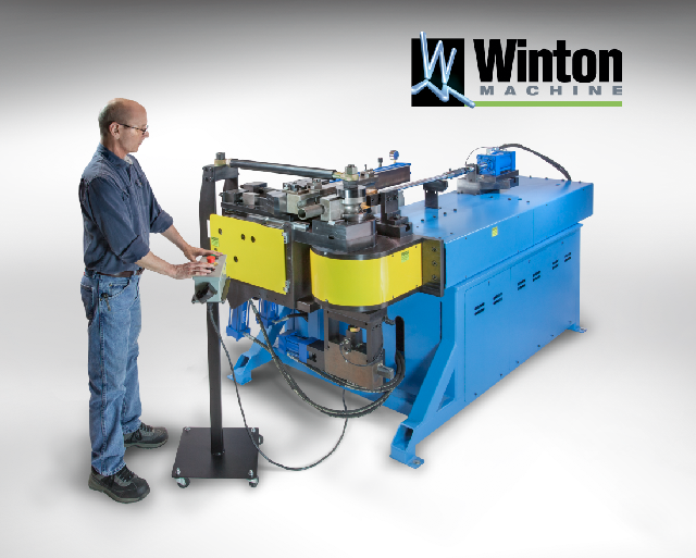 Winton Model 2 Rotary-Draw Tube Bender