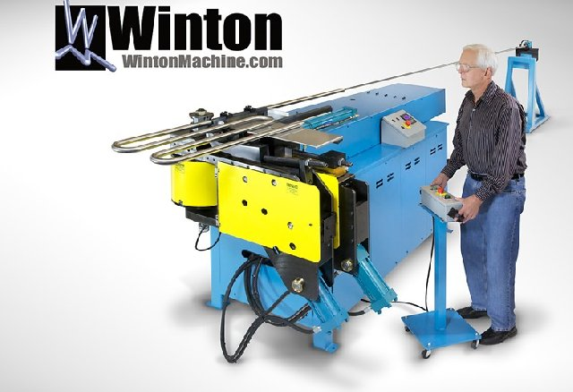 Model RD50 NC Rotary-Draw Tube Bender up to 50 mm capacity